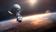 Orbital Station by AKIRAwrong.deviantart.com on @DeviantArt