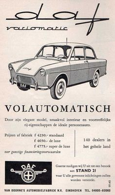 Advertising Signs, Vintage Advertisements, Vintage Ads, Vintage Posters, Eindhoven, Car Websites, Ford Classic Cars, Car Prices, Car Posters
