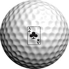 Logo Golf Ball Ace of Clubs by Adamo Golf on Opensky