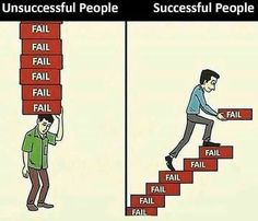 Fail your way to success. True Quotes, Best Quotes, Motivational Quotes, Inspirational Quotes, Happy Quotes, Quotes Quotes, Business Motivation, Business Quotes, Quotes Motivation
