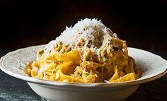 makaronada Linguine, Bon Appetit, Great Pasta Recipes, Mediterranean Recipes, Greek Recipes, Recipe Collection, Pasta Dishes, Macaroni And Cheese, Food To Make