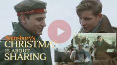 """""""Sainburys"""" 大手筆的電影史詩般感人廣告""""CHRISTMAS IS FOR SHARING"""",敘述當時在聖誕節時戰爭暖化的那一刻,雖然只有一刻,但還是感動地告訴各位聖誕節最大的意義在於分享及快樂! http://youtu.be/NWF2JBb1bvM"""