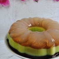 Pudding 3 lapis (marie,avocado,choco)
