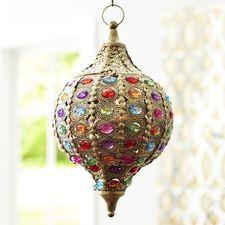 Caravan Gem Hanging Lantern - Gold, $41.96 (Sale)