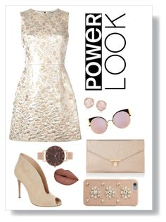 """""""Power Look"""" by reyna-mxrie on Polyvore featuring Dolce&Gabbana, Accessorize, Fendi, Gianvito Rossi, Olivia Burton, Monica Vinader and MICHAEL Michael Kors"""