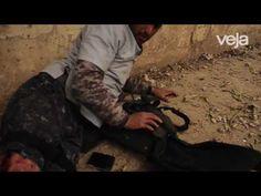 RS Notícias: Fotógrafo brasileiro socorre soldado ferido por ca...