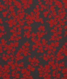 Robert Allen Contract Apple Tree Pomodoro Fabric - $25.55 | onlinefabricstore.net