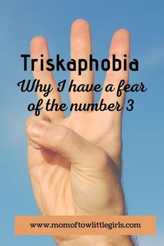 Triskaphobia is the fear of the number three. This phobia is real, it's a real condition. This is one day in my life and the reason I have a healthy respect of the number Wine Jokes, Family Of 5, 3 Three, Very Tired, Number 3, How To Make Light, Phobias, Kids Playing, Respect