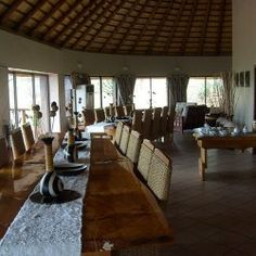 Solid Wood Tables|Esikhotheni Private Game Reserve