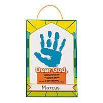 My Pledge To God Handprint Craft Kit - 13629313