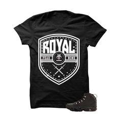 Fear None Jordan 9 Anthracite Black T Shirt