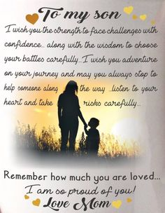 Beauteous Proud Of You Quotes For My Son Love Kids Nephew