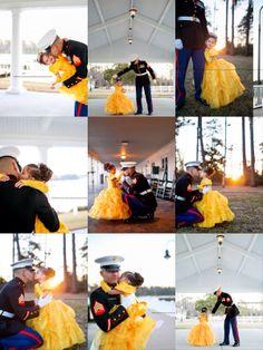 Father-Daughter Dance Photos! #MilitaryMonthOfTheChild #MilitaryFamilyLove