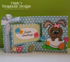 Cindy's Scraptastic Designs: Peachy Keen Stamps & Miss Kate Cuttables / Co-Hop