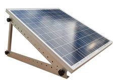 Adjustable Solar Panel Mount Mounting Rack Bracket -- Boat, RV, Roof, Off-Grid