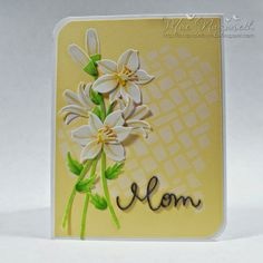 MFT Lily ink'd paper by mae: Mom
