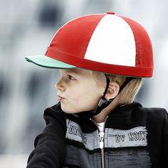 Cute kid's bike helmet