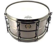 "Ludwig Black Magic 13x7"" Snare.  www.drumwarehouselondon.com"