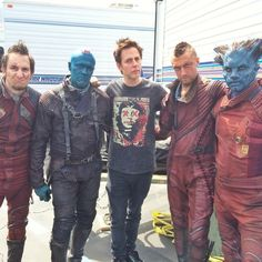 #GotG james gunn ravagers guardians of the galaxy