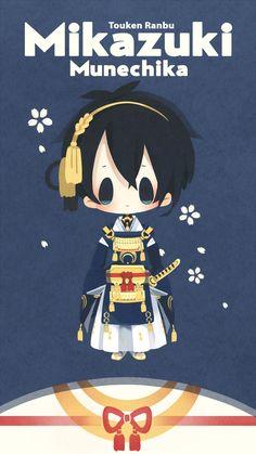 Tuma (TUMART), Touken Ranbu, Mikazuki Munechika, White Flower