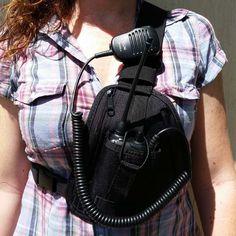 2 way radio holster - Google Search