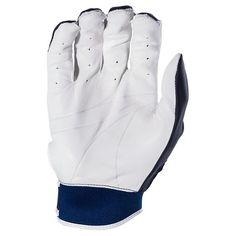 Franklin Sports X-Vent Pro Batting Gloves White/Navy Adult X-Large,