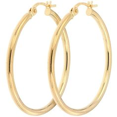 Bracci Bracci 9Ct Yellow Gold 28Mm Hoop Creole Earrings ($105) ❤ liked on Polyvore featuring jewelry, earrings, gold earrings, gold earrings jewelry, yellow gold hoop earrings, vintage style jewelry and vintage style jewellery