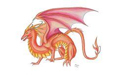 Dragon by Dragoma.deviantart.com on @DeviantArt
