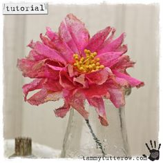 Tammy Tutterow Tuesday Tutorial: Love Struck Vintage Style Millinery