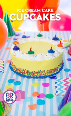 What makes a birthday cake even better? A cake with cupcakes! Your next celebration will be one to remember with our Mini Cupcake Birthday Cake. Complete with edible candies and white dipping chocolate, it is sure to be a crowd pleaser!