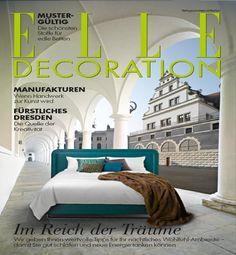 Treca Interiors Paris' beds in Dresden - ELLE Decoration, September 2014