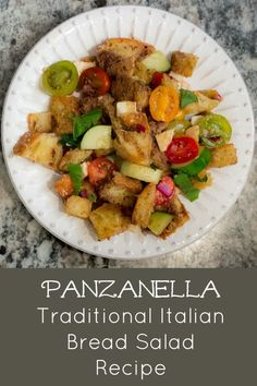French Delicacies Essentials - Some Uncomplicated Strategies For Newbies Panzanella Is Scrumptious It's A Traditional Italian Bread Salad Recipe, And The Best Use Of Fresh Summer Tomatoes, Fresh Mozzarella, Basil, And A Balsamic Vinaigrette I Know # Best Salad Recipes, Fun Easy Recipes, Easy Meals, Dinner Recipes, Amazing Recipes, Summer Recipes, Delicious Recipes, Yummy Food, Italian Bread Salad