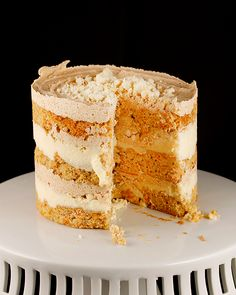 Every once and a while, you have to make something a little extra special. Any Milk bar recipe qualifies as just that, over the top, but it. Cupcakes, Cupcake Cakes, Milk Bar Cake, Momofuku Cake, Pumpkin Cake Recipes, Breakfast Dessert, Savoury Cake, Creative Cakes, Sweet Bread