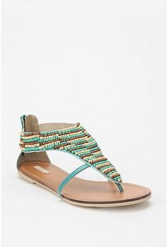 Ecote seed bead sandals