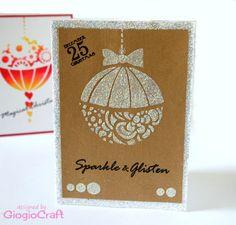 Sparkle and Glisten Christmas card