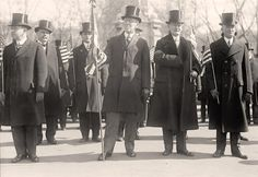 President Woodrow Wilson loved his tops hats.