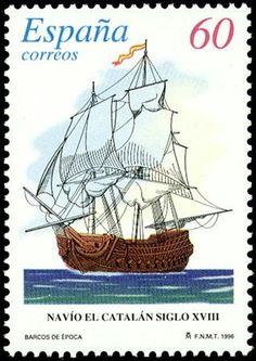 Navio El Catalan siglo XVIII - 1996