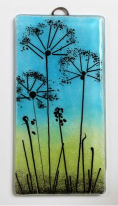 Fused Glass Wall Sculptures   Fused glass wall hangings - wall plaques