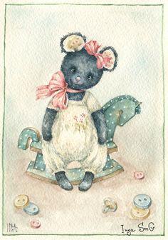 teddy girl- Inga Ixmaylova