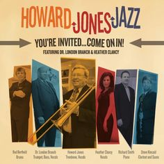 Howard Jazz Jones - You're Invited: Come On In
