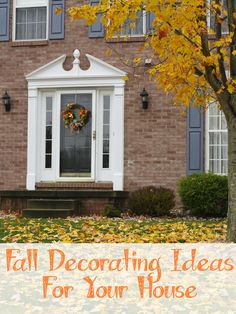 Decorating Ideas For Your House