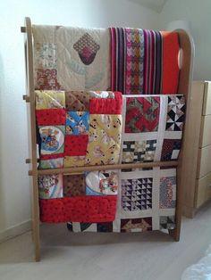 Quiltrek met quilts