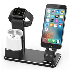 JESKY iPhone Charging Stand for iPhone X, iPhone 8, iPhone 8 Plus