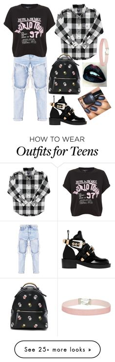 """Untitled #27"" by bribrireeves on Polyvore featuring Balenciaga, Fendi and Miss Selfridge"