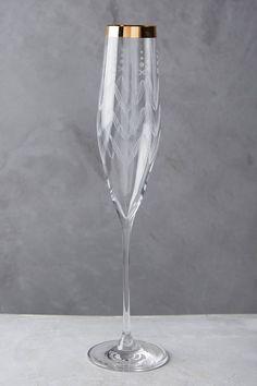 Lucasta Champagne Glass - anthropologie.com