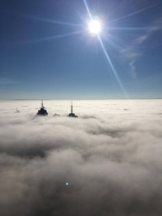 Fog which blanketed Melbourne - May 2017 Melbourne Weather, Clouds, Outdoor, Outdoors, Outdoor Games, Outdoor Living, Cloud