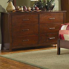 Woodbridge Home Designs Rivera 6 Drawer Dresser