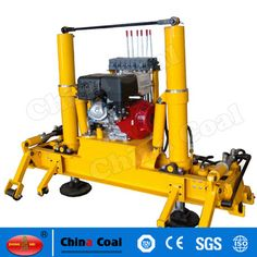 chinacoal03 YQJ-200 Hydraulic Railway Used Track Raising And Lining Machine YQJ-200 hydraulic track lifting and lining machine is specially used for the maintenance and repair of railway lines and the track bed. It applies to the track lifting and lining works of rails 43kg/m to 75kg/m, which can raise and adjust the track level. It is featured with high efficiency, simple operation, light weight, safety and reliability, a wide range of use etc.