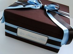 Personalized, handmade memory boxes