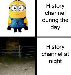 """'History Channel At Night' Memes Drag The Network For Its Unapologetic Wildness - Funny memes that """"GET IT"""" and want you to too. Get the latest funniest memes and keep up what is going on in the meme-o-sphere. Crazy Funny Memes, Really Funny Memes, Stupid Funny Memes, Funny Laugh, Funny Relatable Memes, Funny Posts, Hilarious, Funny Stuff, Laugh Meme"""